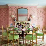 Traditional Dining Room by Mario Buatta
