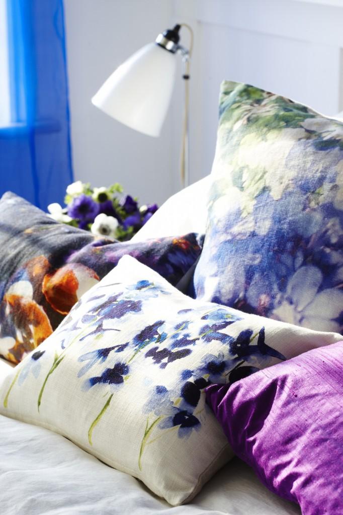 watercolor bedroom