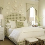 Green and Neutral Toned Bedroom