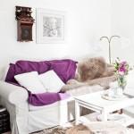 Scandinavian Purple Touch