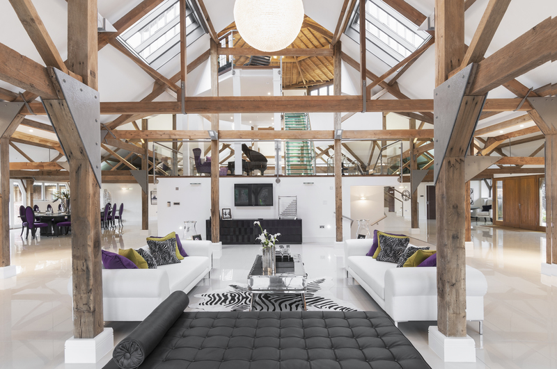 Barn Interiors berkshire grade two octagonal barn - interiorscolor