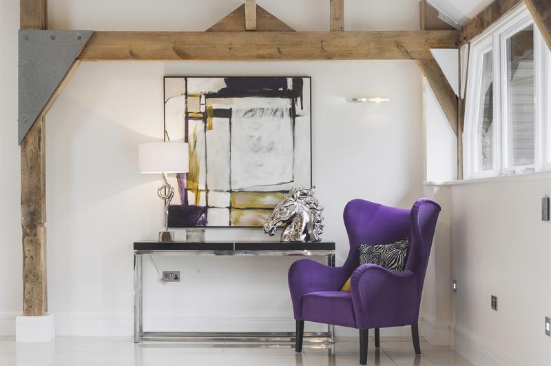Berkshire Grade Two Octagonal Barn purple chair