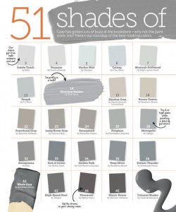Many Shades of Gray Paint