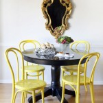 Bentwood Chairs in Yellow