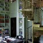 Gold Spiral Stairs
