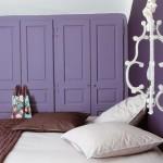 Two Toned Bedroom in Purple