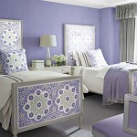 Lavender Twin Bed