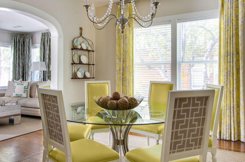 yellow-contemporary-dining-space