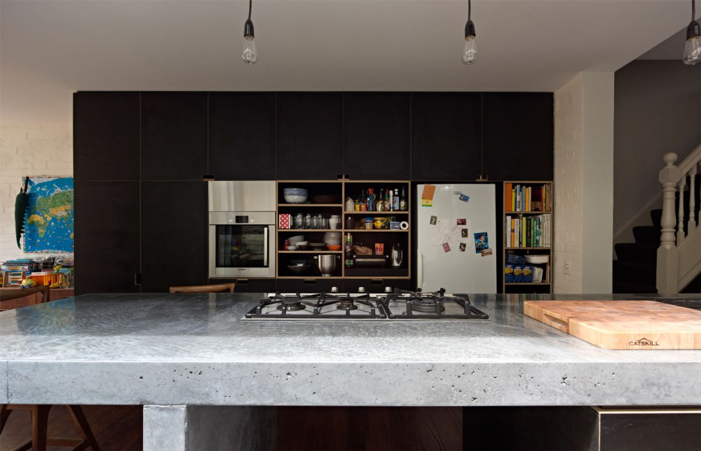 A Long Kitchen Island interior 2