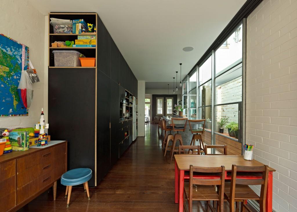 A Long Kitchen Island interior 3