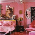 Betsey Johnson's pink apartment in New York
