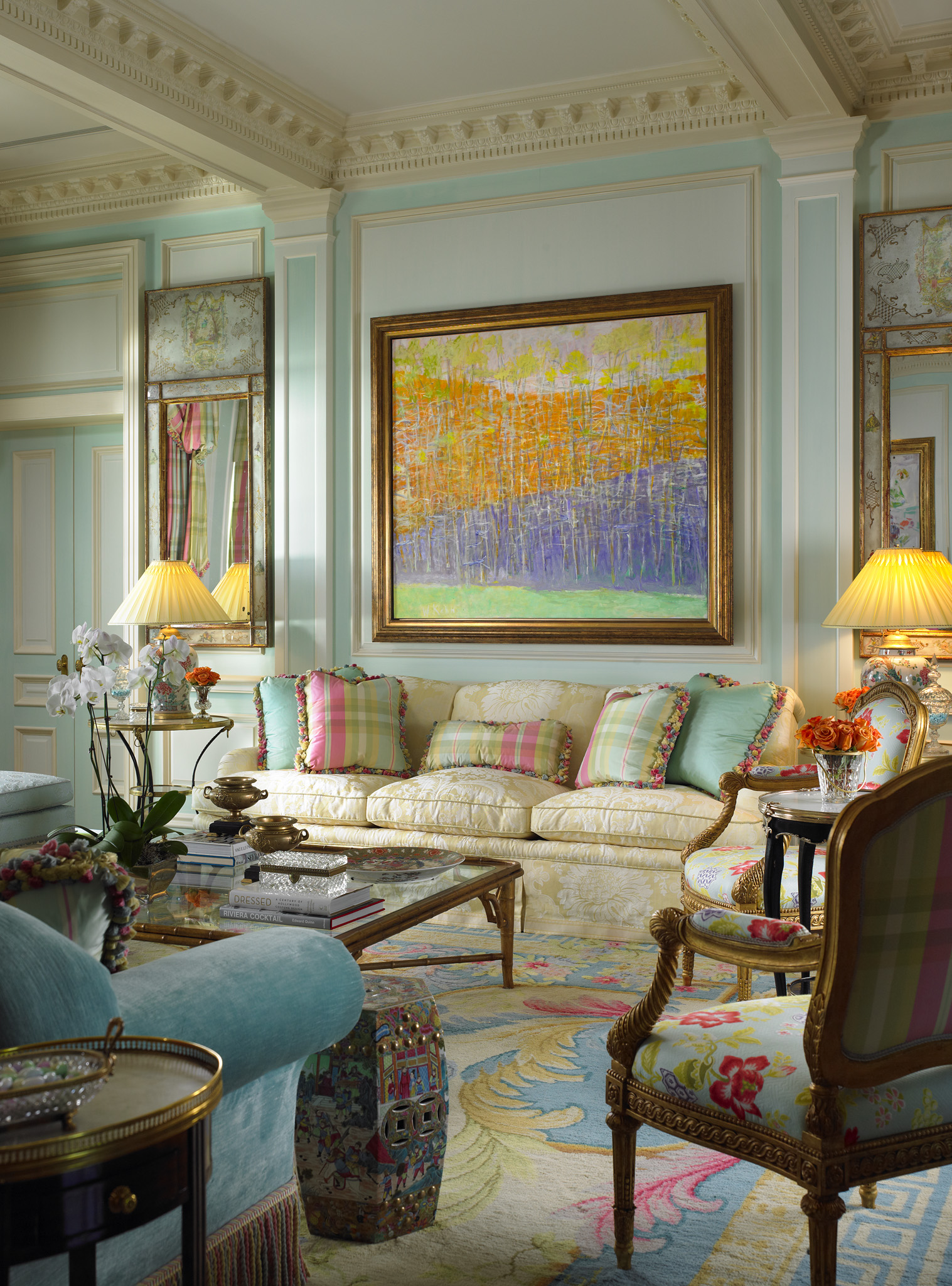 English Style Interior Design Palm Beach English Country Interior By LONG H