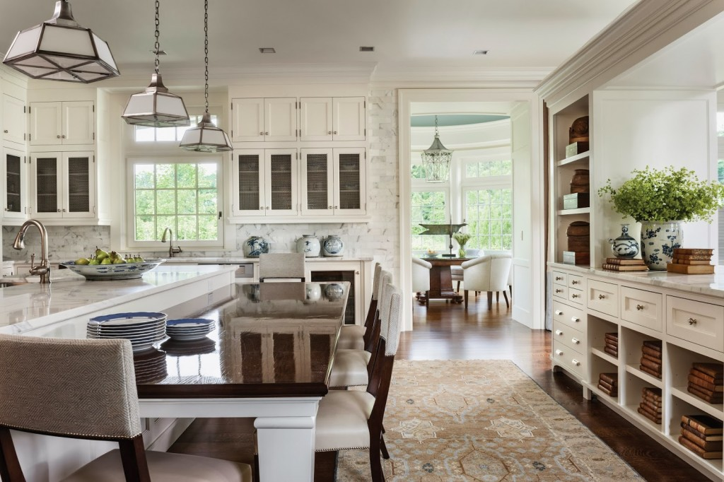 Light Filled Contemporary Classic Kitchen