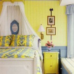 French Bedroom in Yellow and Blue