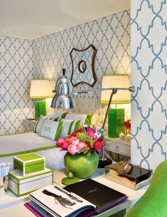 blue green bedroom 3