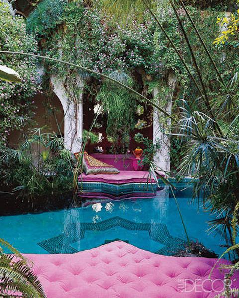 Moroccan Pool Oasis