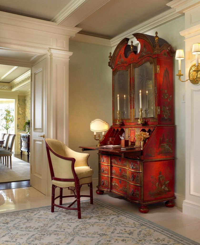 Red Eastern Cabinet