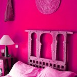 Saturated Pink Boho