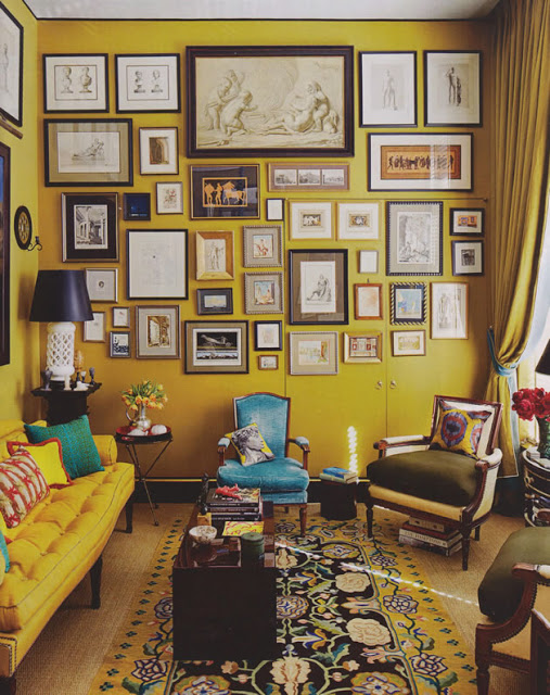 small yellow space