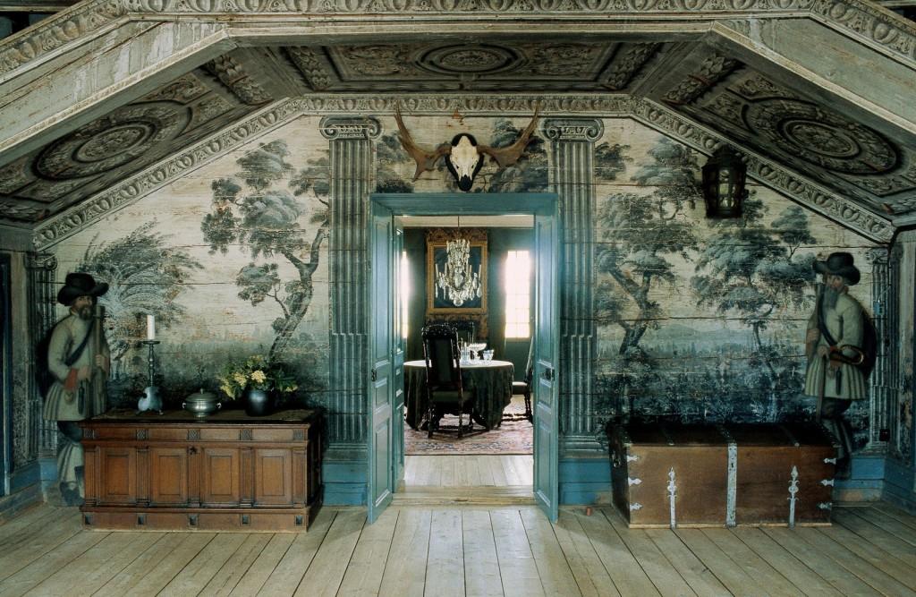 Mural at Sandemar Manor in Sweden