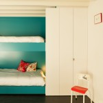 Modern Teal Bunks