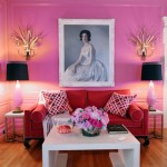 Contemporary Pink and Red Contrast