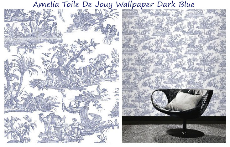 Amelia-Toile-De-Jouy-Wallpaper-Dark-Blue