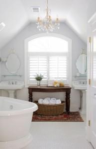 Brian Patterson Designs White Bathroom