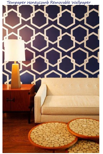Tempaper-Honeycomb-Removable-Wallpaper-Deep-Blue