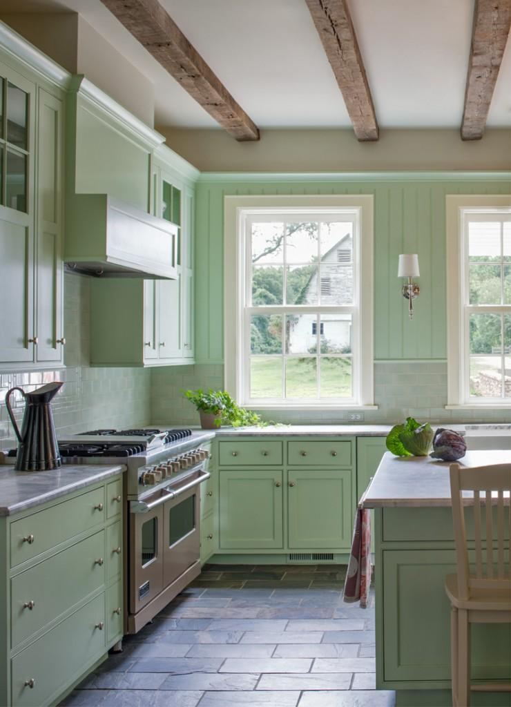 Farmhouse kitchen, McLean, VA. Donald Lococo Architects