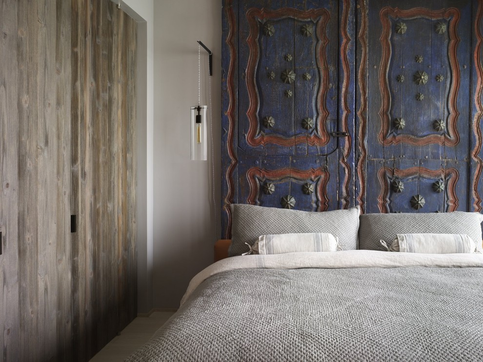 Thai Temple Doors In The Bedroom Red Blue And Patterns Christian Louboutins Boho