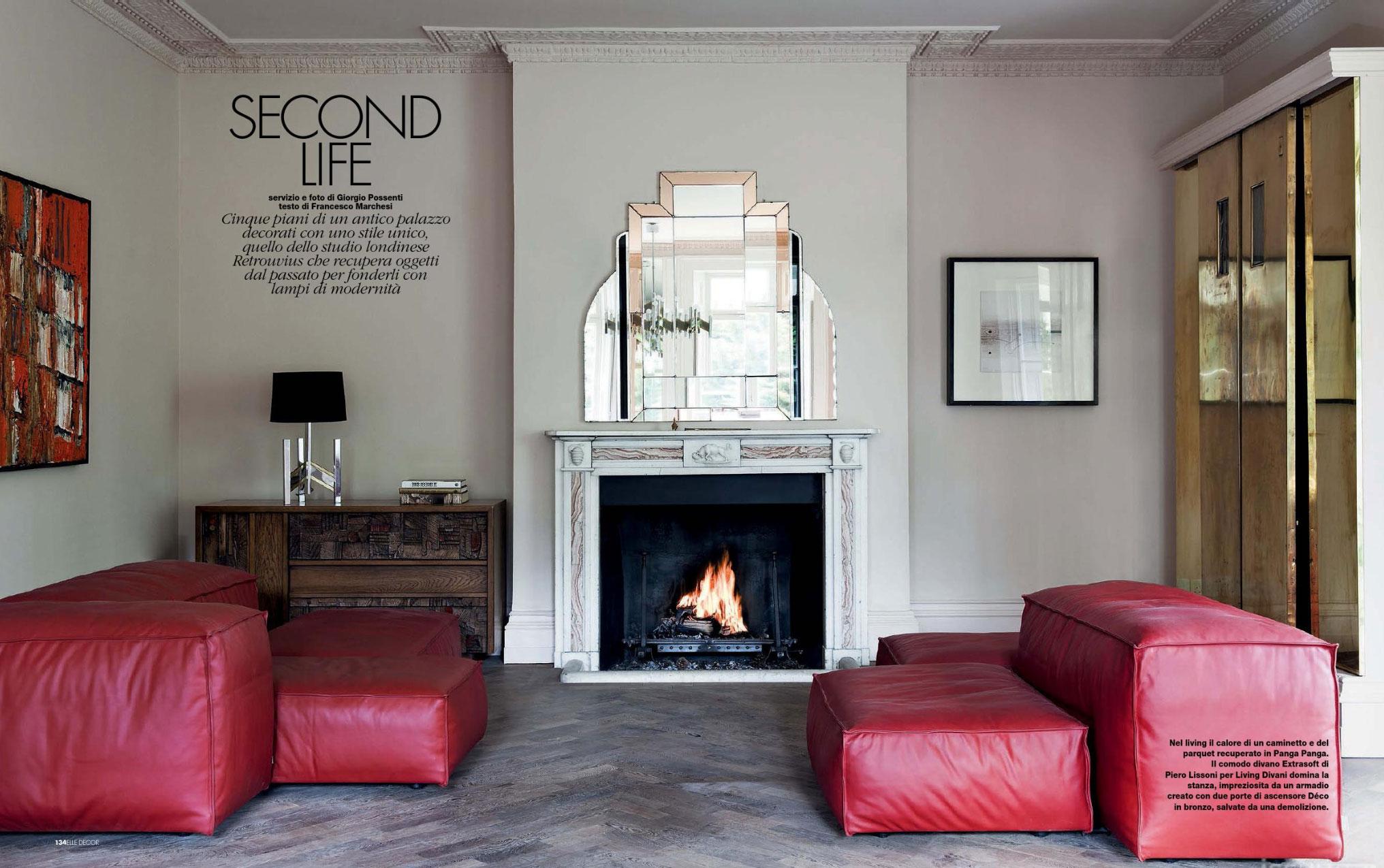 Second Life Elle Decor Italy December 2013 Interiors