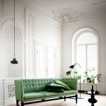 A Minty Green Sofa