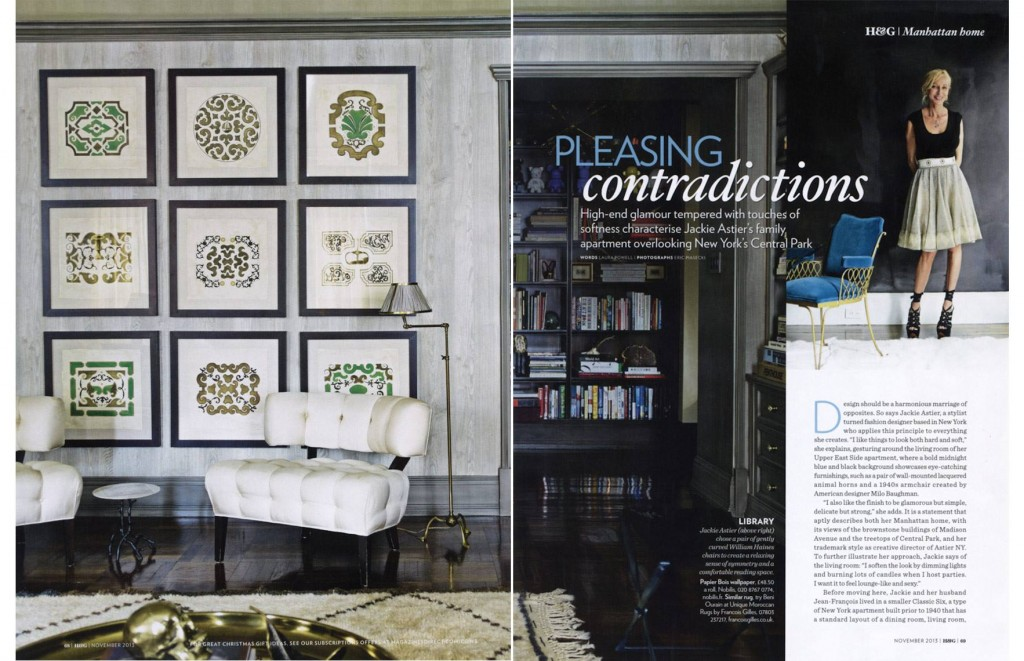 Pleasing Contradictions - British Homes & Gardens, November 2013 1