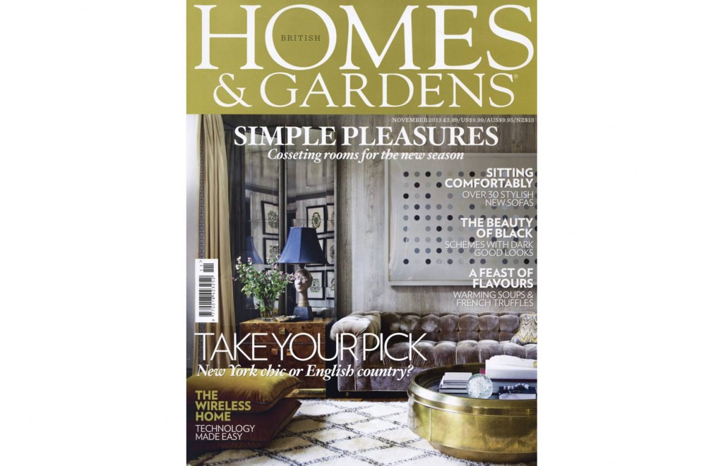 Pleasing Contradictions - British Homes & Gardens, November 2013