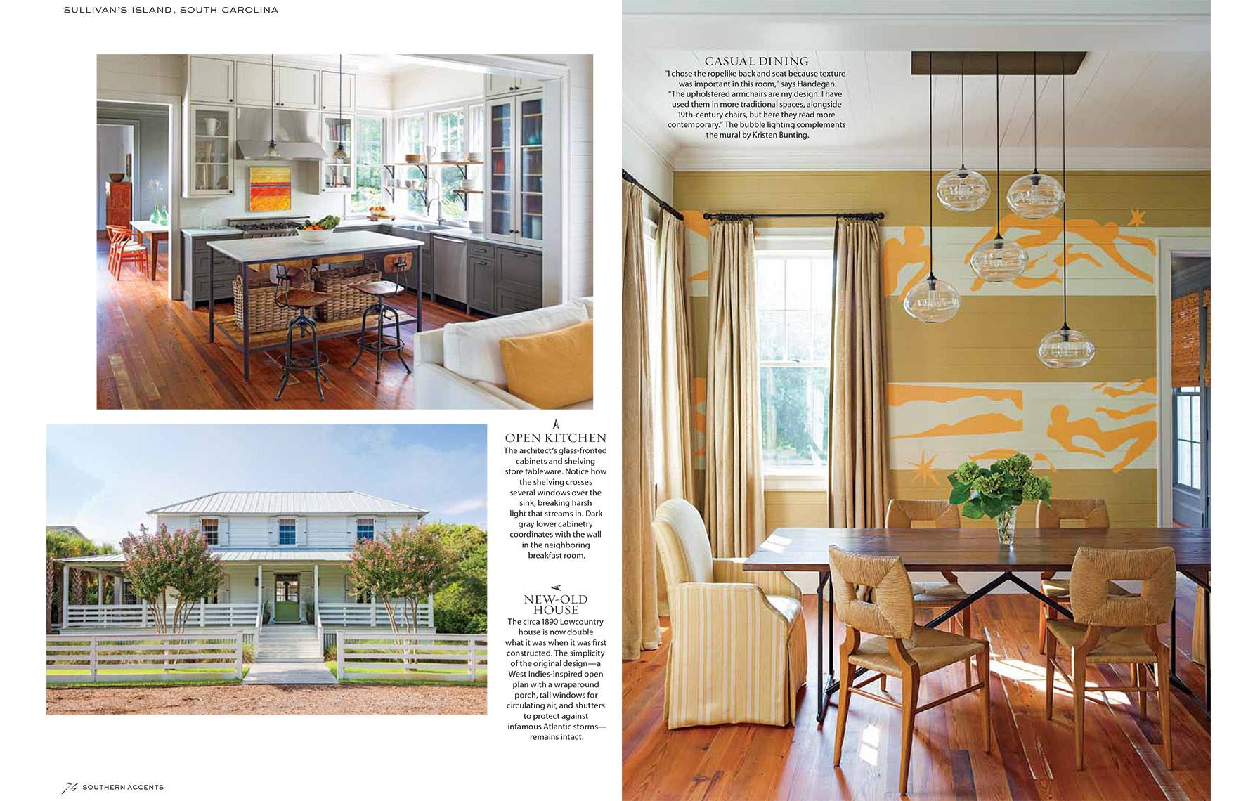 Southern Accents January 2014 Cover And Story Interiors