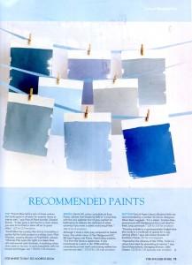 Blue Color Paint Masterclass