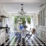 French Riviera Inspired Cottage Kitchen