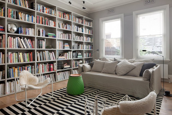 Edwardian to Modern Home library