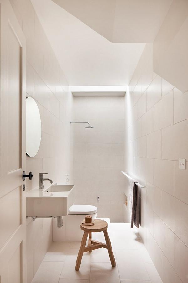 Edwardian to Modern Home white bathroom
