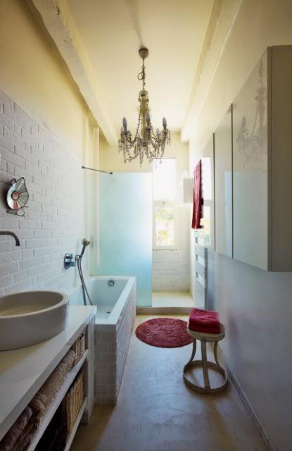 Marseille France Ethnic Chic bathroom
