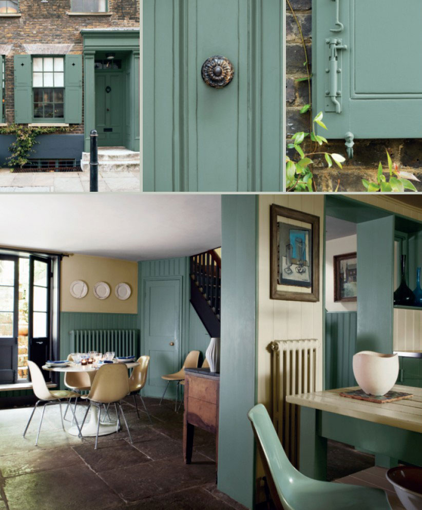 Card room green interiors by color - Farrow and ball decoration ...