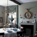 Dusty Pink and Grey Dining