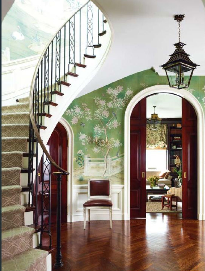 Green Entrance Hall