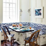 Indigo Ikat Kitchen Seating