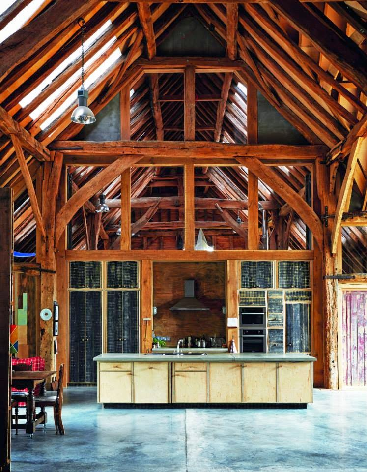 Exposed Timber Kitchen