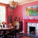 Eccentric Pink Dining