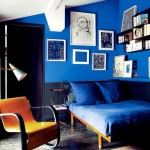Royal Blue, Black and Modern