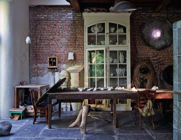 Artist Ros Van De Velde Home Interiors By Color
