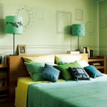 A Bedroom in Green